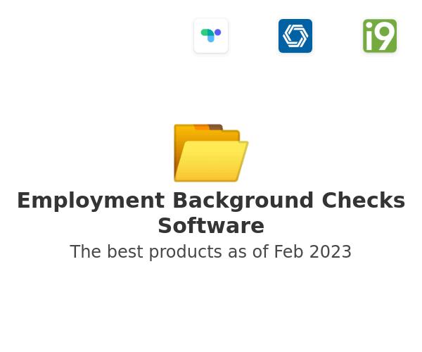 Employment Background Checks Software