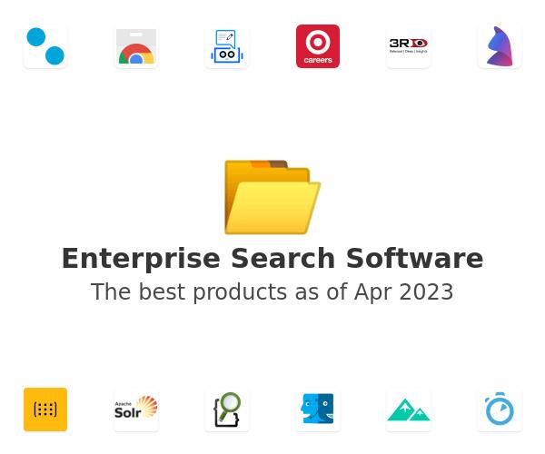 Enterprise Search Software
