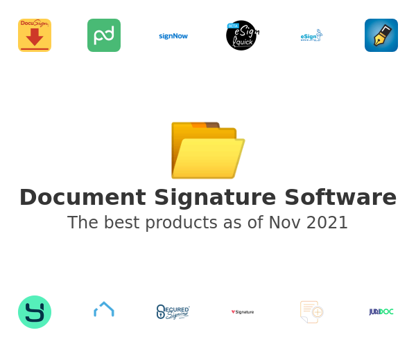 Document Signature Software