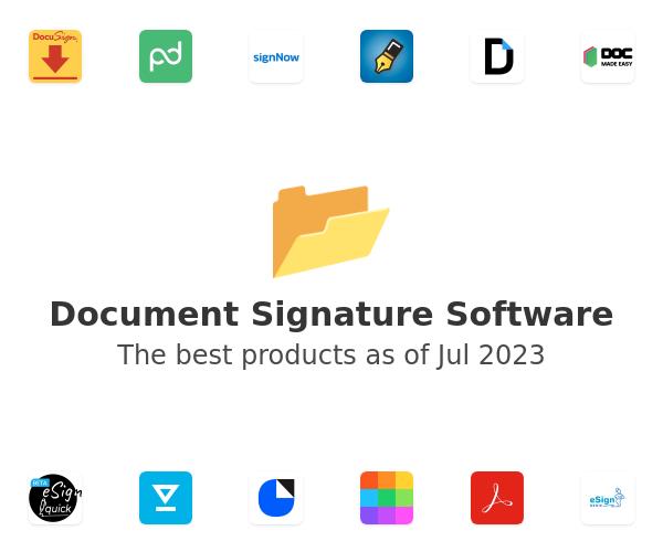 Document Signature Software