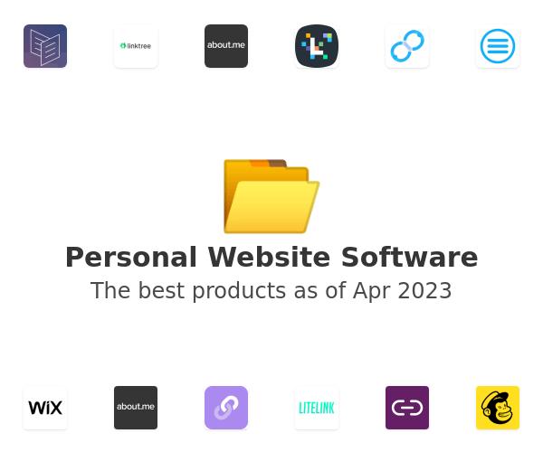 Personal Website Software