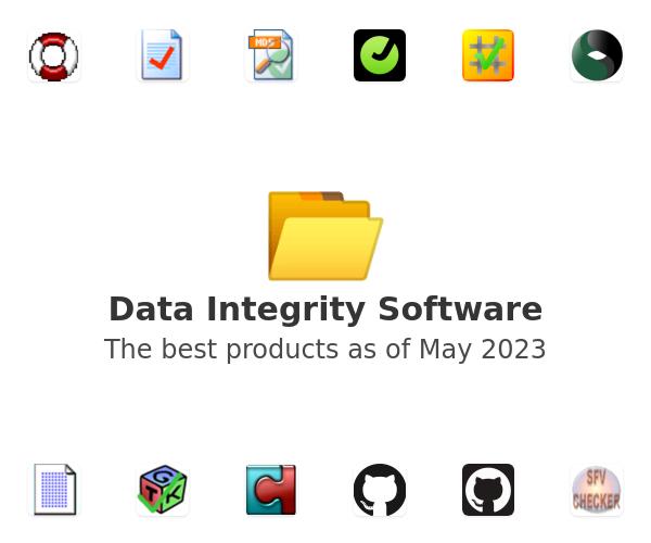 Data Integrity Software