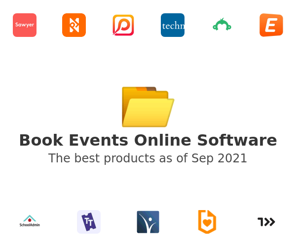 Book Events Online Software