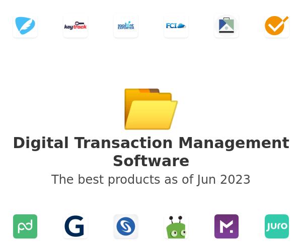 Digital Transaction Management Software