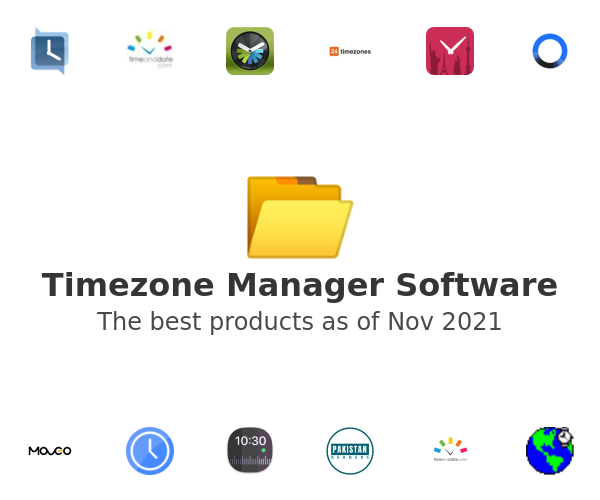 Timezone Manager Software