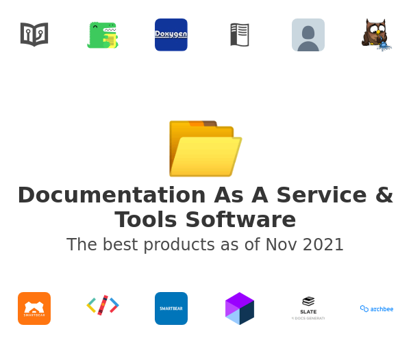 Documentation As A Service & Tools Software