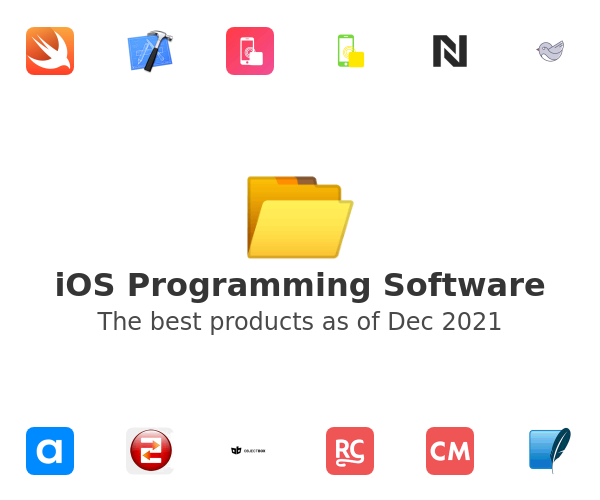 iOS Programming Software