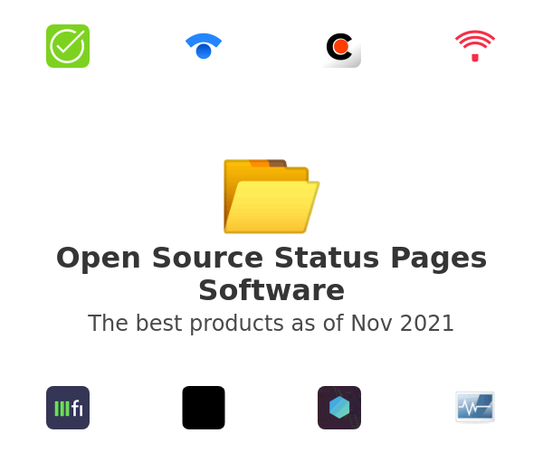 Open Source Status Pages Software