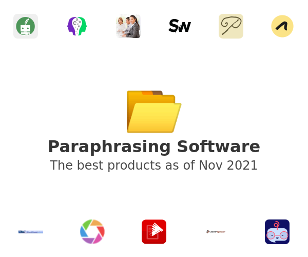 Paraphrasing Software
