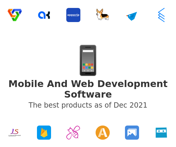 Mobile And Web Development Software