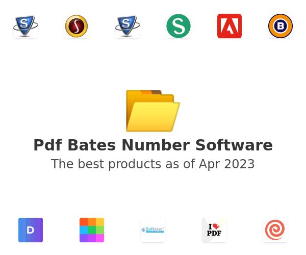 Pdf Bates Number Software