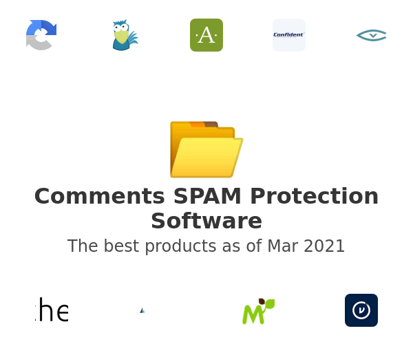 Comments SPAM Protection Software