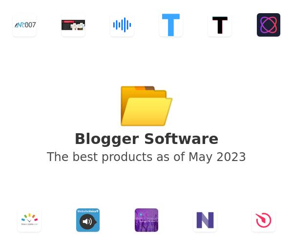 Blogger Software