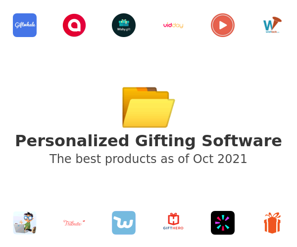Personalized Gifting Software