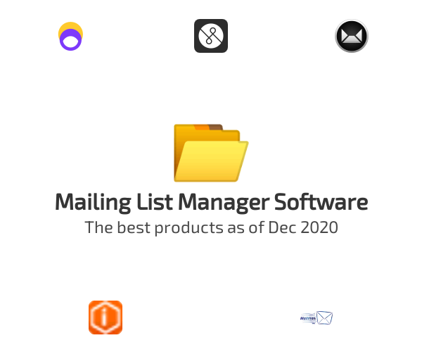 Mailing List Manager Software