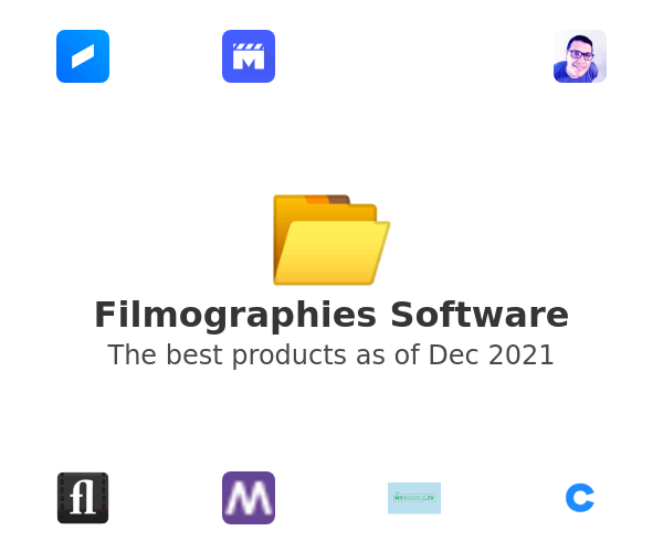 Filmographies Software