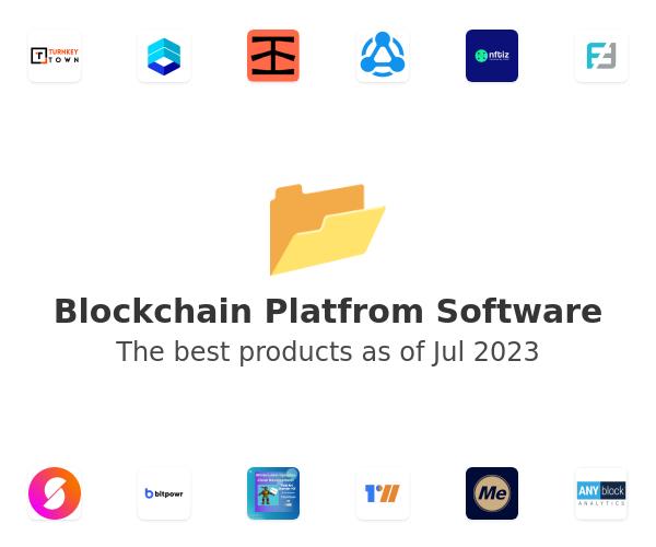 Blockchain Platfrom Software