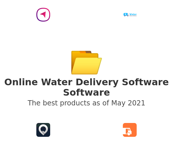 Online Water Delivery Software Software