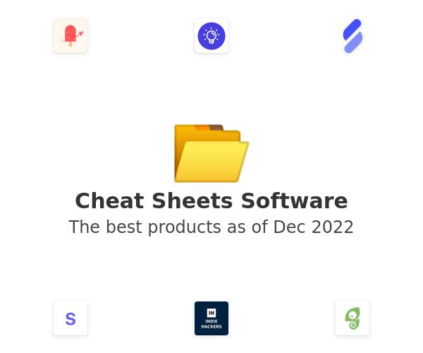 Cheat Sheets Software