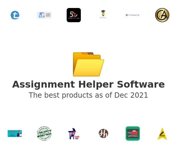 Assignment Helper Software