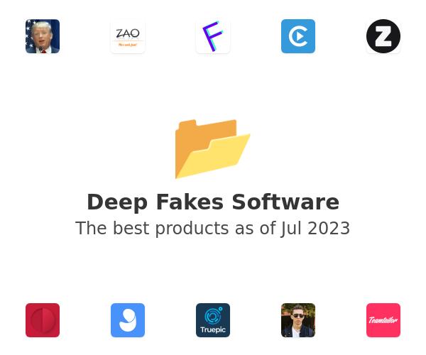Deep Fakes Software