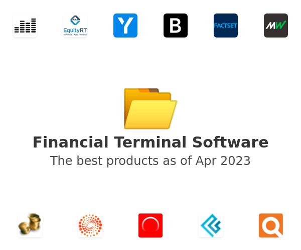 Financial Terminal Software