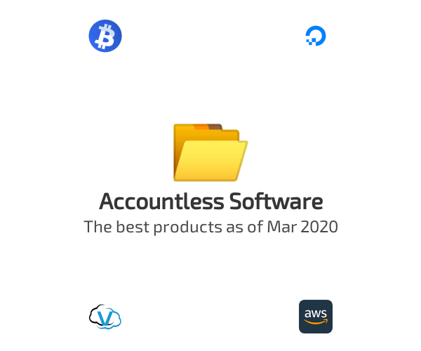 Accountless Software