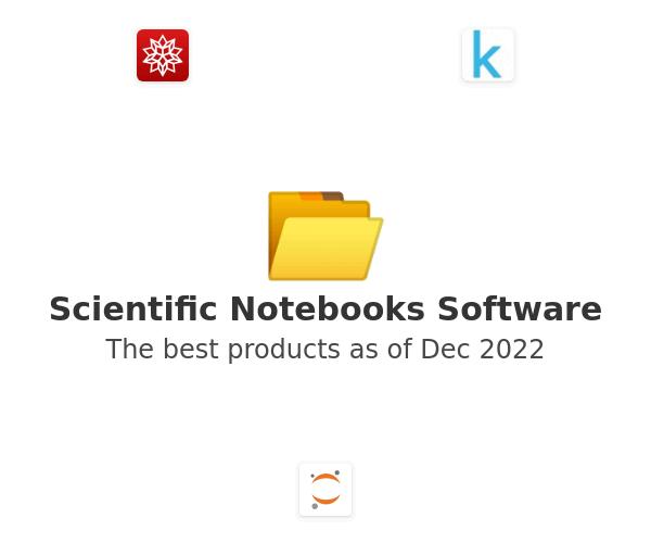 Scientific Notebooks Software
