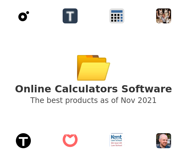 Online Calculators Software