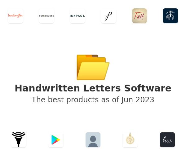 Handwritten Letters Software