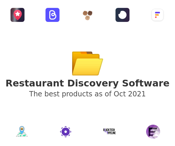 Restaurant Discovery Software