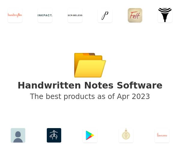Handwritten Notes Software