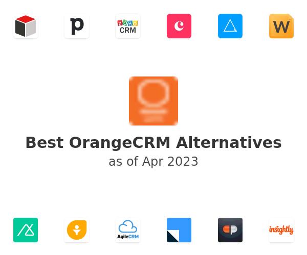 Best OrangeCRM Alternatives