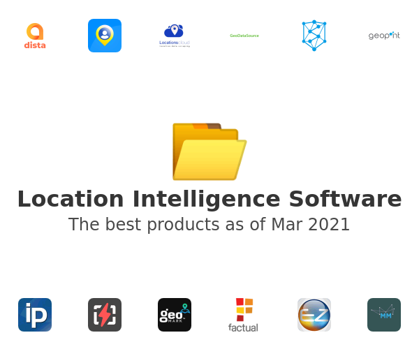 Location Intelligence Software