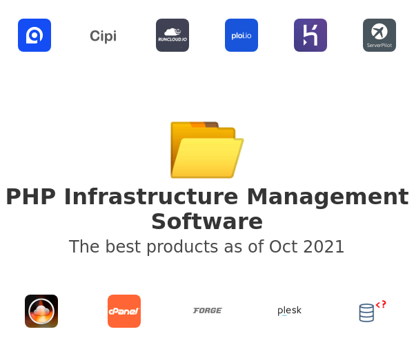 PHP Infrastructure Management Software