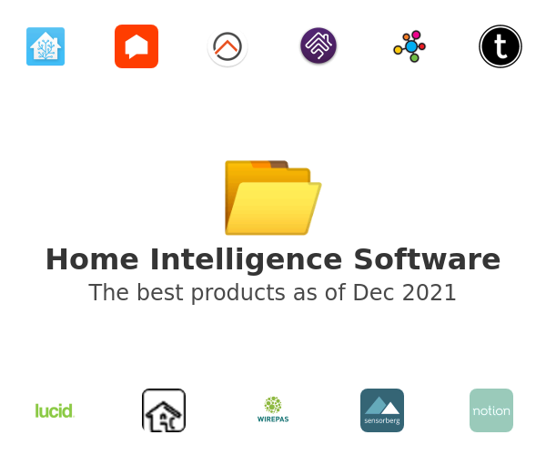 Home Intelligence Software