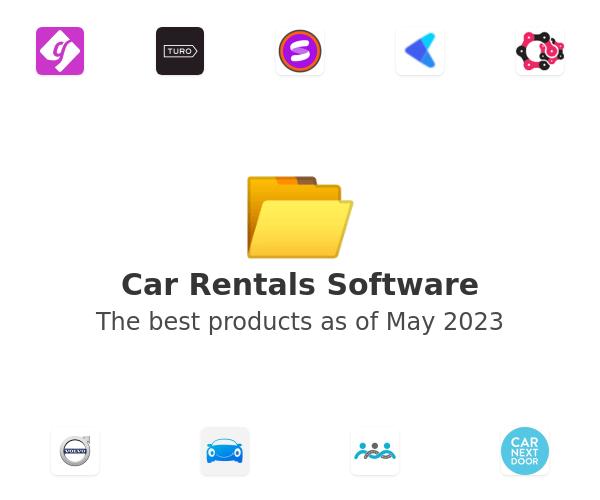 Car Rentals Software