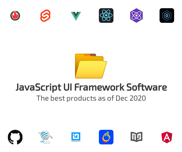 JavaScript UI Framework Software