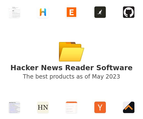 Hacker News Reader Software