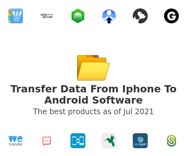 Transfer Data From Iphone To Android Software