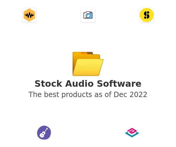 Stock Audio Software