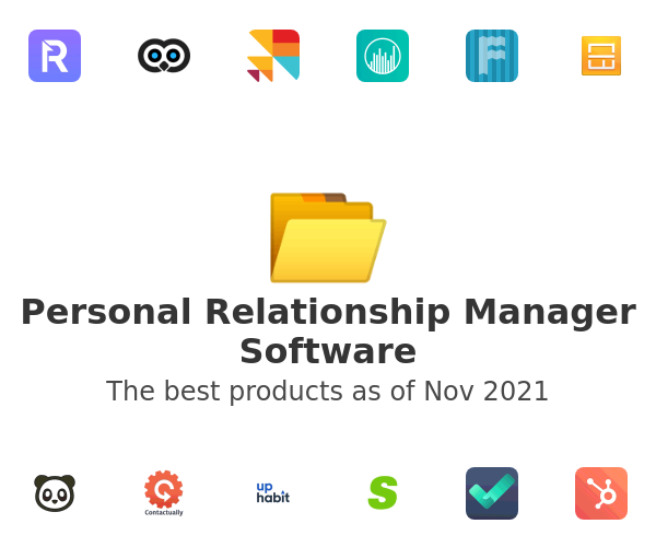 Personal Relationship Manager Software