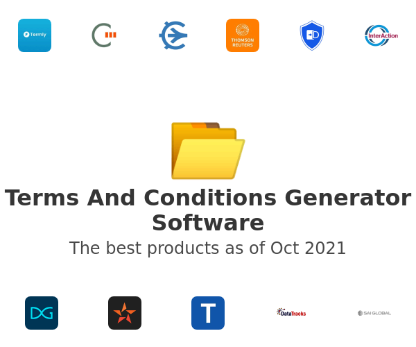 Terms And Conditions Generator Software