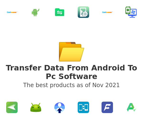 Transfer Data From Android To Pc Software