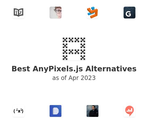 Best AnyPixels.js Alternatives