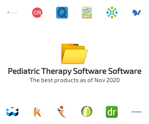 Pediatric Therapy Software Software
