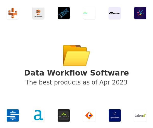 Data Workflow Software