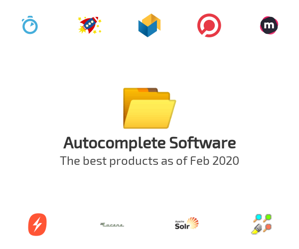 Autocomplete Software
