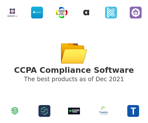 CCPA Compliance Software