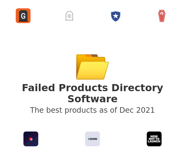 Failed Products Directory Software